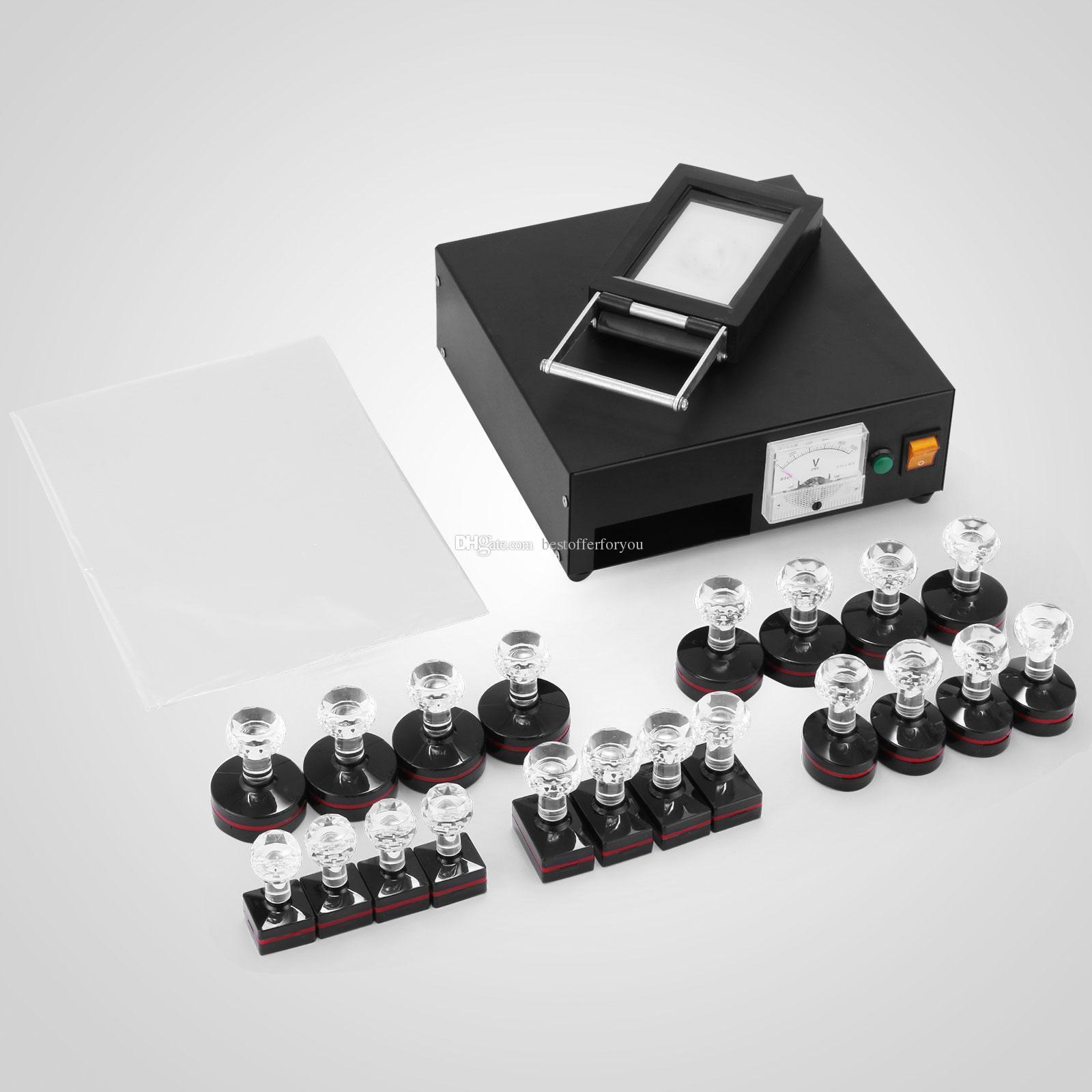110V 220V Stamp Making Photosensitive Seal Machine Kit Optical Principle Digital Maker Set Hot Sale Buy Online Buying Postage From