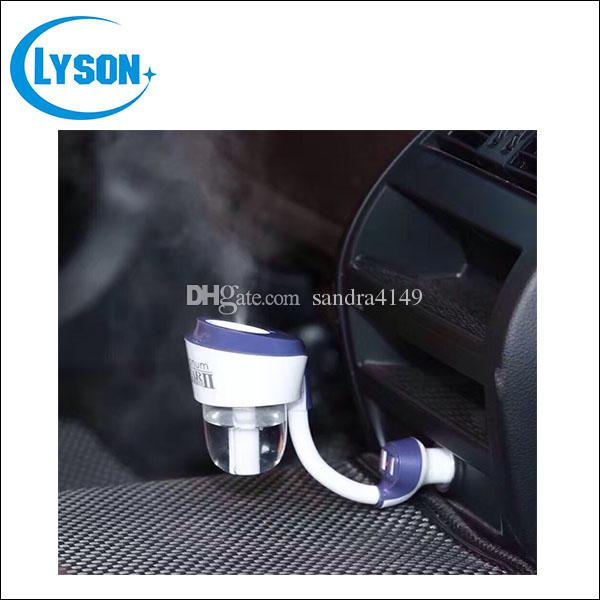 Generation II Nanum Car Plug Aroma Diffuser Essential Oil 12V Rechargeable Vehicle Humidifier Car Aromatherapy Humidifier