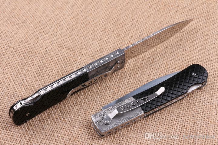 FB3021 FB3016 EDC Taschen-faltendes Blatt-440C 58HRC Satin Finish Blattmesser im Freien kampierende wandernde Rettungsmesser Verschluss-Rückseite
