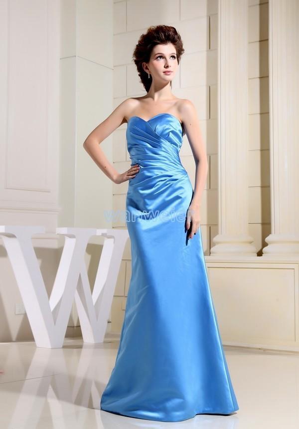 2018 Satin Knee-length Sweetheart Sheath Bridesmaid Dresses Party Long New Design Hot Sale Brides Maid Dress Custom Size/color