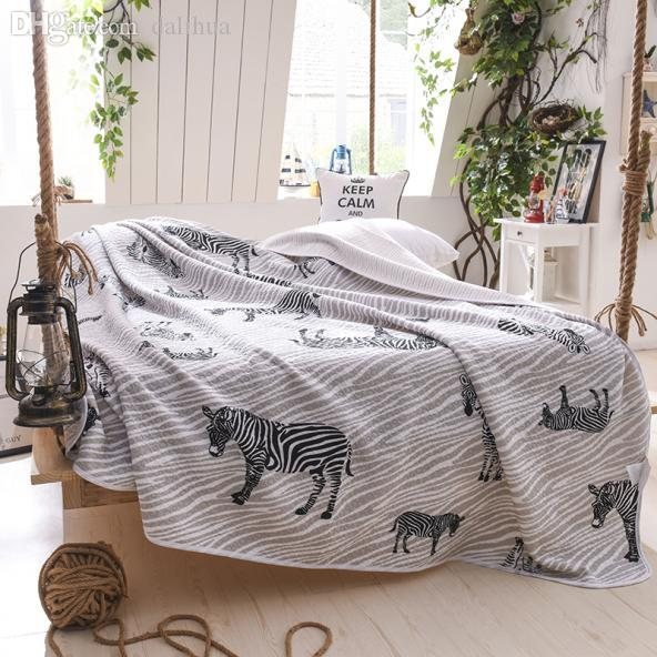 2018 Wholesale Parisspring 100%cotton Zebra Stripe Multifunction ... : washable quilts - Adamdwight.com