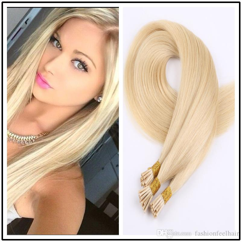 I Tip Hair 18 28inches Straight Brazilian Remy Human Stick Extension
