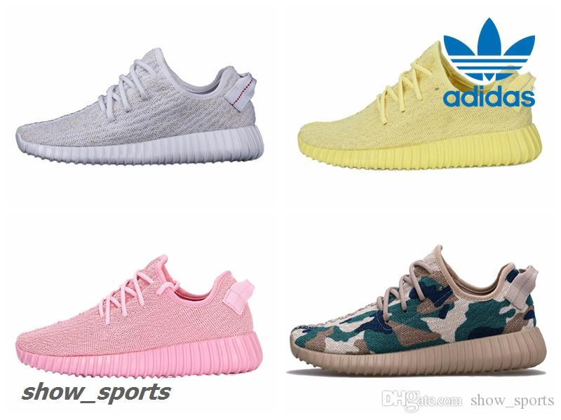 Adidas Yeezy Boost 350 Triple White Yellow Pink Green Camo Customs Mens  Running Shoes Women Kanye West Yeezy 350 Yeezys Original Box Yeezy Boost 350  Pirate ...