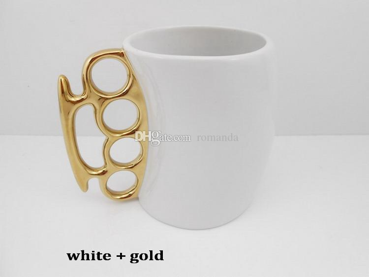 Оптовый творческий кулак кулак персонализированный кофе кружка домашний подарок кухни, керамический чашка, идеально подходит для кофе, чай DHL Бесплатная доставка