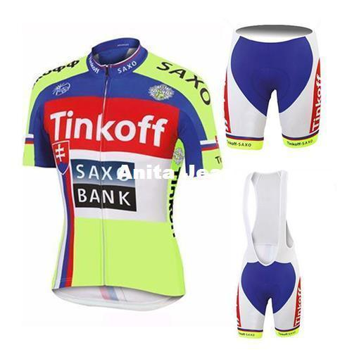 2015 Tinkoff Saxo Bank TOUR DE FRANCE YELLOW Fluo CHAMPION ONLY SHORT  SLEEVE ROPA CICLISMO SHIRT CYCLING JERSEY CYCLING WEAR Fashion And  Practical Cyc ... be89da252