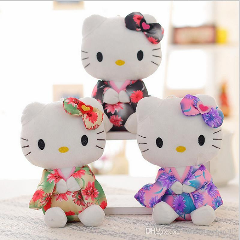 Hello Kitty Stuff Toys : Cm one piece cute hello kitty plush toys with