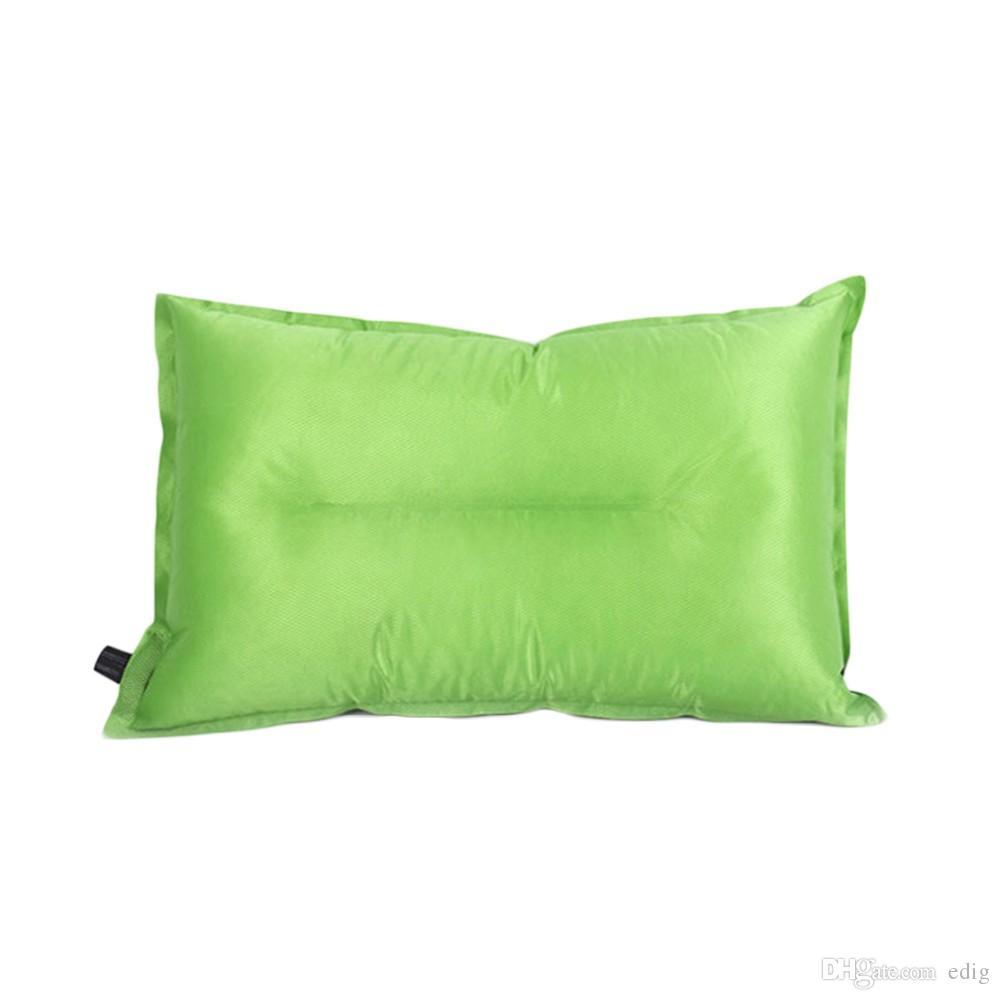 Voyage extérieur portatif d'oreiller de coussin d'air gonflable automatique populaire