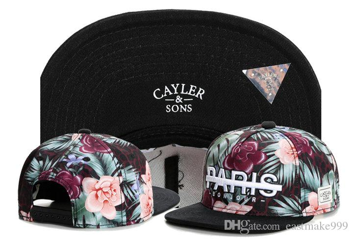 gros nouvelle casquette de basket-ball de base-ball de la marque de mode usine de chapeau fils Cayler sport directement GORRAS ordre mixte
