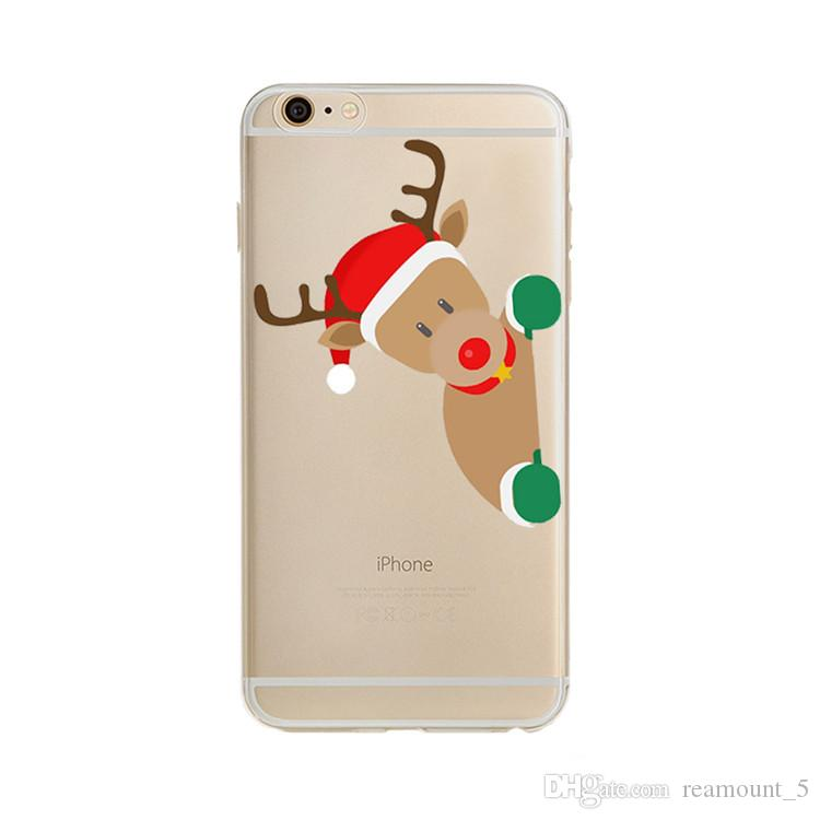 Qualitäts-DIY Weihnachten Fall-Abdeckung für iPhone 7 Plus-Qualität PC rückseitige Abdeckung mit Customization