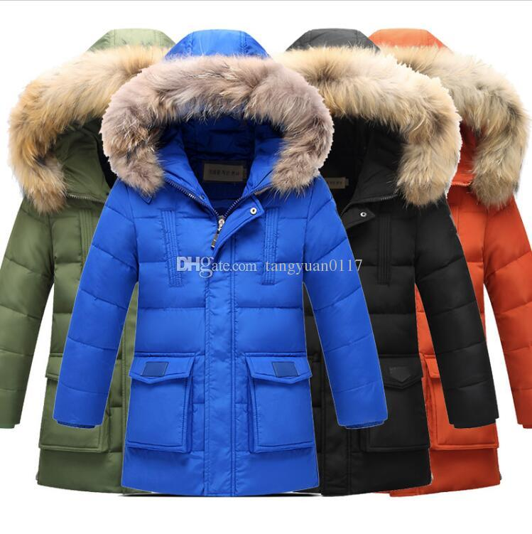 5440ba1e1 Boy Down Jacket Winter 2017 Brand New Boys Thickening Duck Down ...