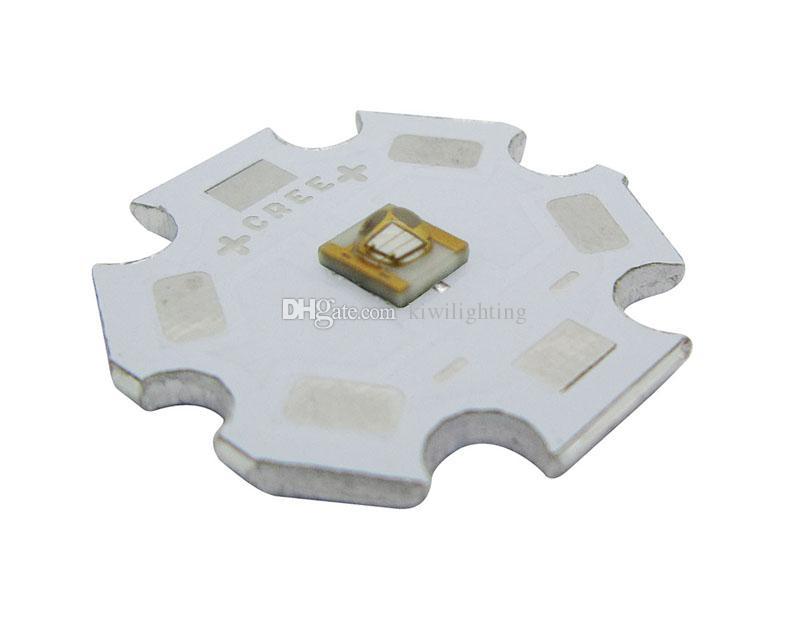 SemiLEDs 3W UV 395nm Led Chip Light 3.2-4.2V 350-1000MA 20mm PCB Board