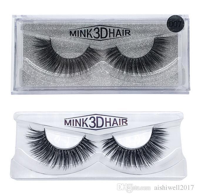 buona qualità 3d visone ciglia di spessore vero visone capelli ciglia finte naturali bellezza trucco estensione ciglia finte false ciglia 15 modelli