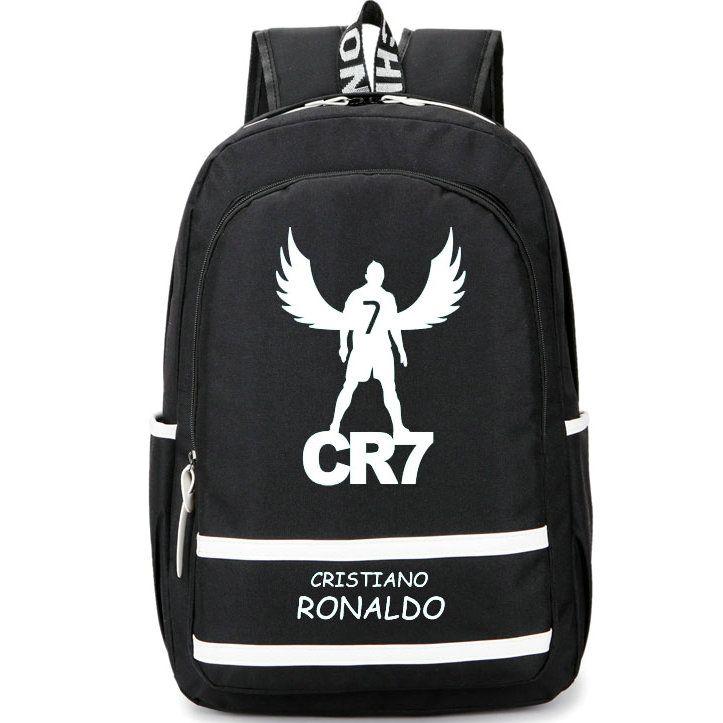 3d9dd33855bd 2019 Fly Cristiano Ronaldo Backpack CR7 Football Club School Bag Footballer  Soccer Star Rucksack Cool Day Pack Best Daypack From Hstbag