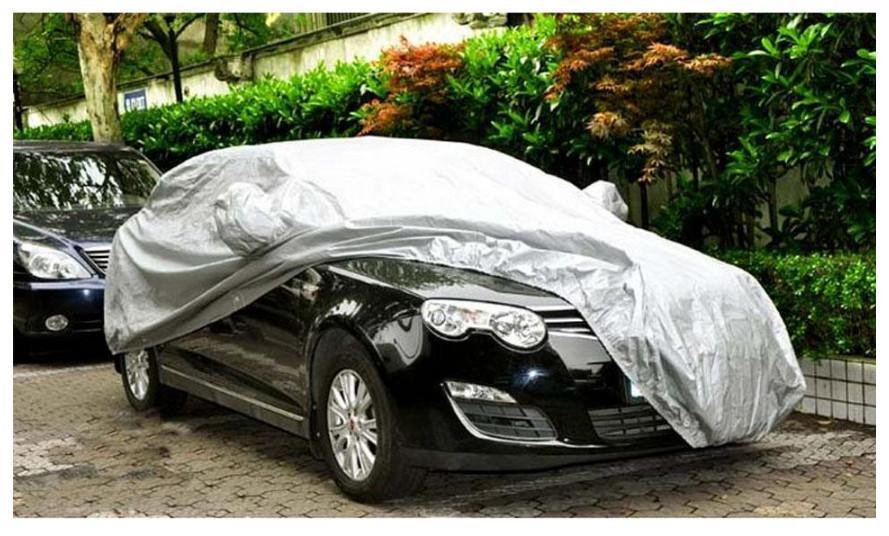 Универсальный автомобильные чехлы ткань для укладки автозапчастей солнцезащитный козырек тепловой защиты водонепроницаемый пыле анти УФ царапинам седан ATP100