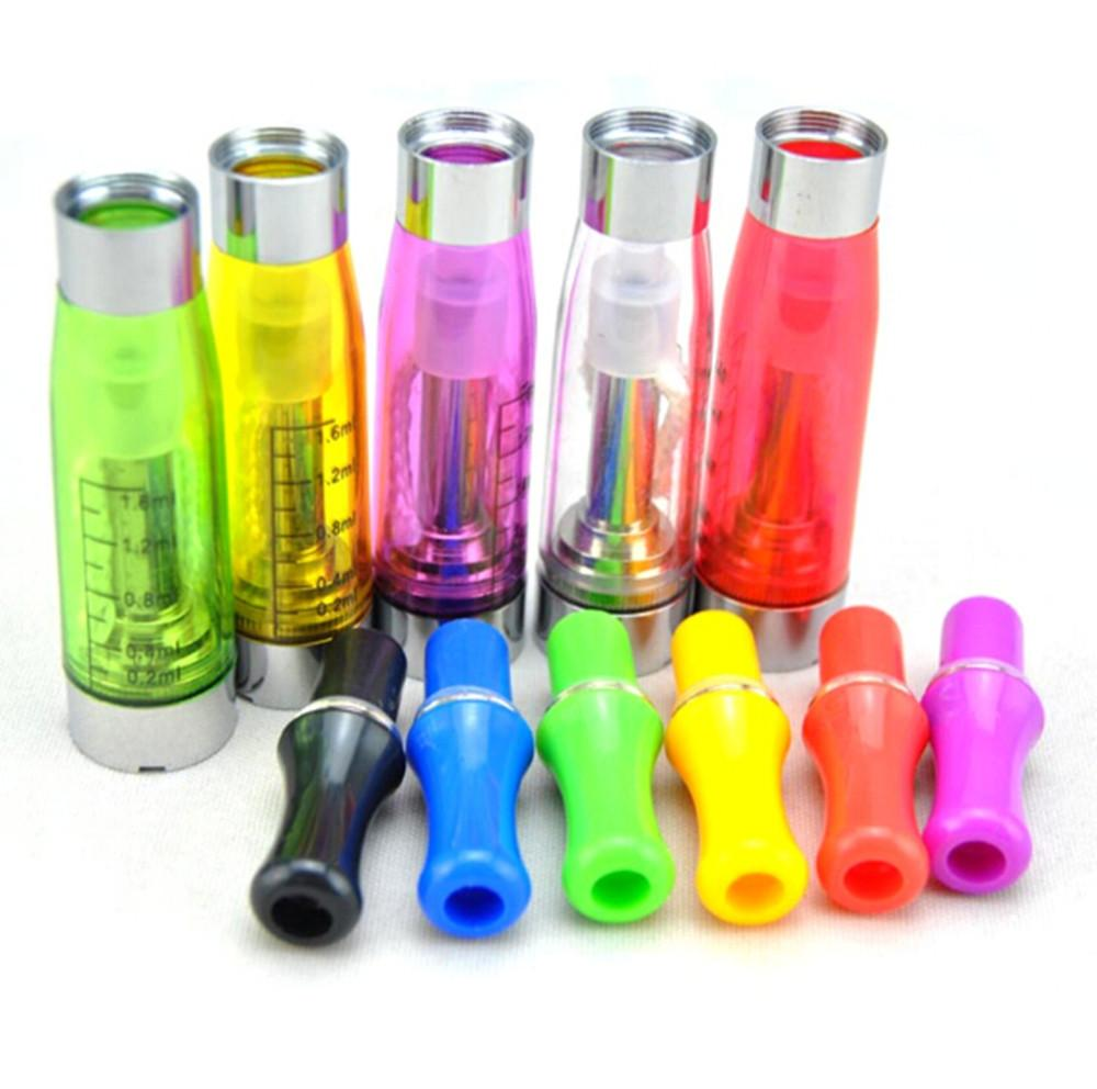 CE4 Atomizer eGo Clearomizer 1.6ml 2.4ohm vapor tank Electronic Cigarette for e-cig battery 4 wick CE4+ CE5 DHL shipping