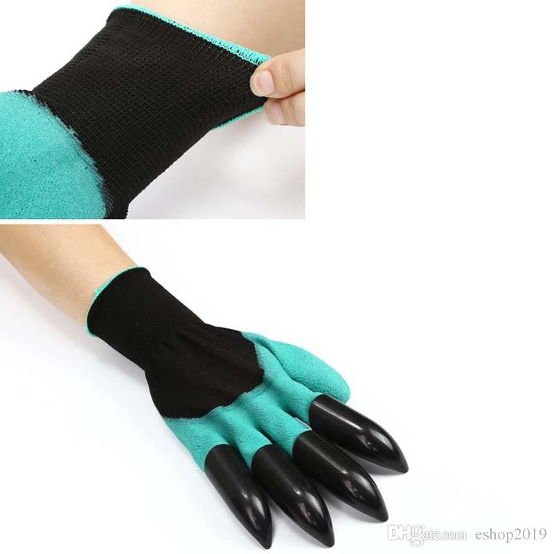 Garden Tools Gloves For Dig soil & Planting Unisex 4 Claws Easy Way To Garden Digging Planting Gloves Waterproof Resistant To Thorns