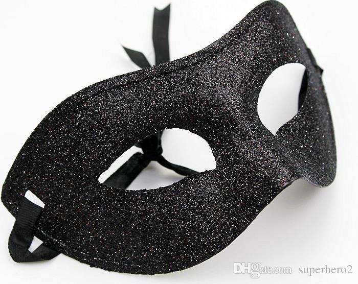 Старинные мужчины Женщины Bling Powder Mask Маска Маскарады Маскарада Партия Маска Маска Маскарад Даже Маска Праздничные Hallowen Рождественские товары