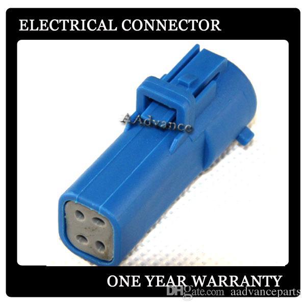 Connettore maschio elettrico a 4 vie blu DJK7047C-1.5-11