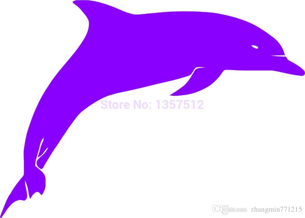 Wholesale Automobile Motorcycle Vinyl Decal Car Glass window Windshield Bumper Door SUV Auto Stickers Jdm Animal Dolphin