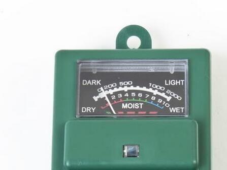 Nueva Llegada 3 en 1 PH Tester Detector de Suelo Humedad humedad Sensor de Medidor de Prueba de Luz para Flor de Planta de Jardín