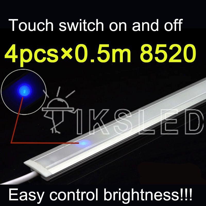 2019 Wholesale Touch Switch Control 0.5m 8520 Rigid Strip