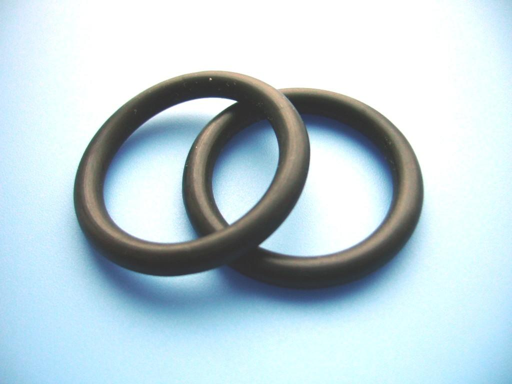Black Nitrile Rubber O Ring Grommets Seal 36mm x 40mm x 2mm