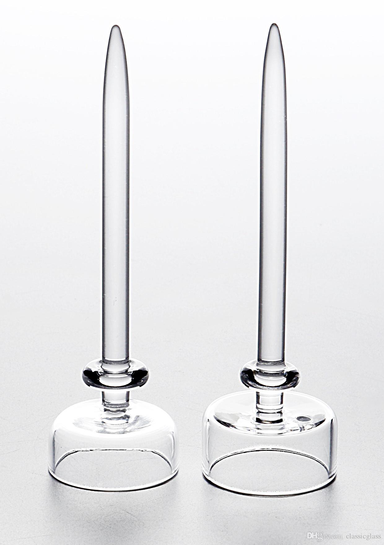 Tampão de quartzo com furo Dabber Capas de fumaça para prego de titânio colorido tem tigela de alta qualidade
