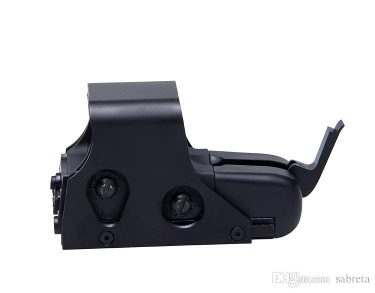 551 sight point rouge rouge / vert holographiques sites de vue portée de point rouge Fusil tactique Portée pour canon de 20 mm rail vue holographique