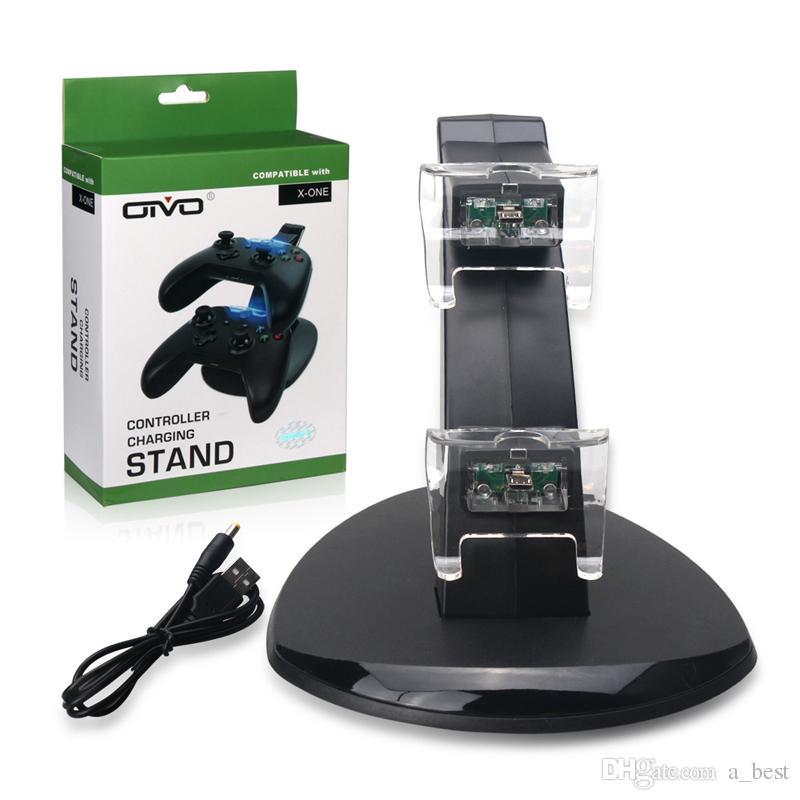 المزدوج LED USB محطة شاحن مهد حوض حامل لسوني بلاي ستيشن 4 PS4 تحكم شحن لعبة ألعاب التحكم اللاسلكي وحدة تحكم المسؤول