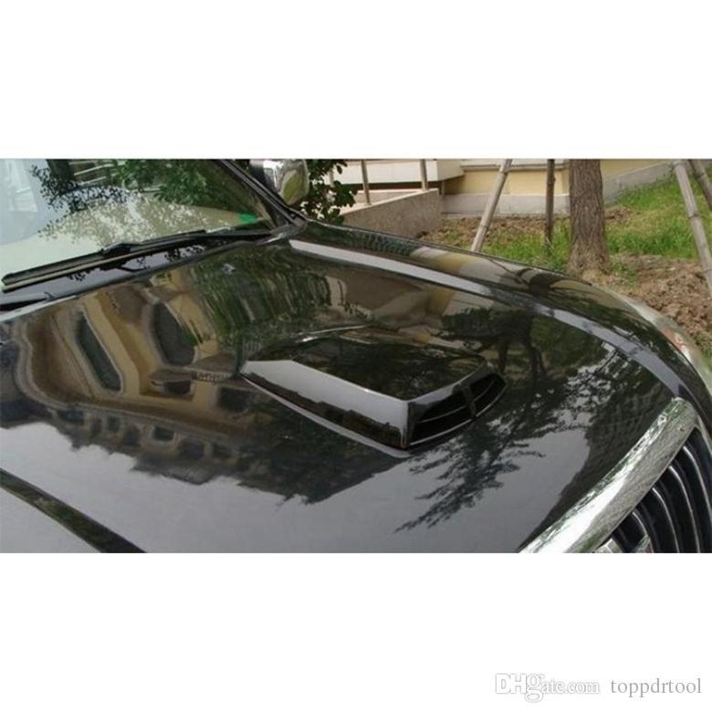 자동차 에어 벤트 시뮬레이션 유니버설 자동차 장식 공기 흐름 흡입 국자 외부 보닛 벤트 커버 후드