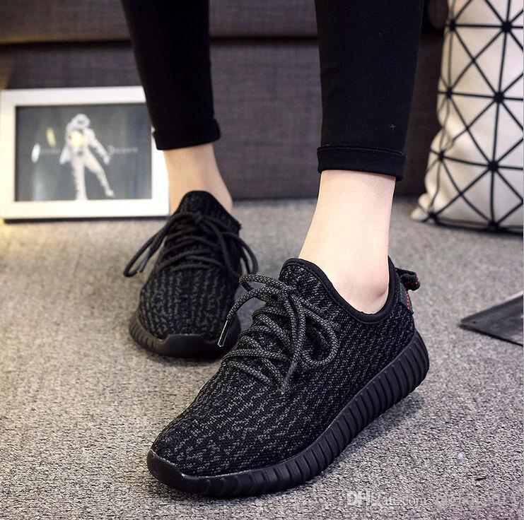 2018 Men Women Unisex Couple Casual Fashion 2017 Hot 350 Boost Running Shoes  Classic Low Kanye West Athletic Bootbreathable Athletic Sports Shoes From