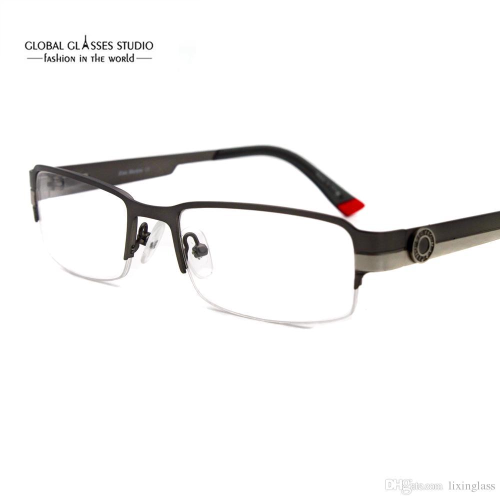 New Fashion Men / Women Designer Glasses Frame Classic Stainless ...