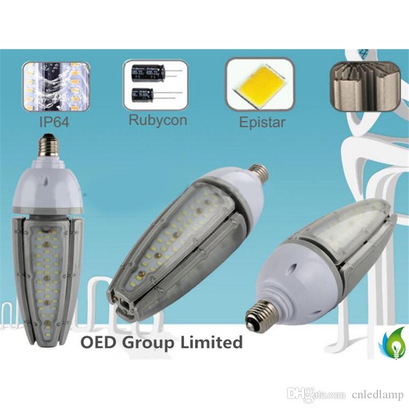 Bulbos impermeables del maíz IP65 de las luces del bulbo del maíz de las luces LED del maíz del poder más elevado IP65 de Epistar 30w 40w 50w con E26 E27 E39 E40