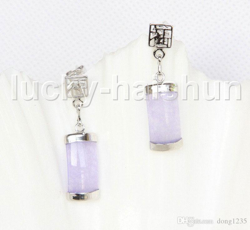 purple poshmark jade listing earrings in elle m