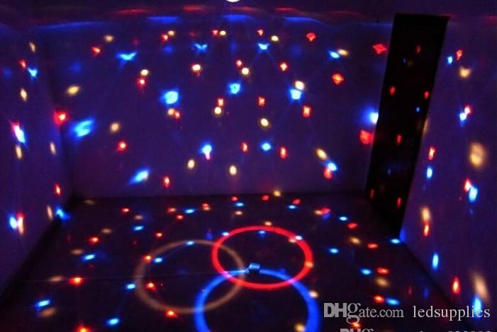 LED DMX 512 Stage Lights Crystal Magic Ball Lighting Effect Light+remote control For Bar, Party, Nightclub, Disco AC110V-220V