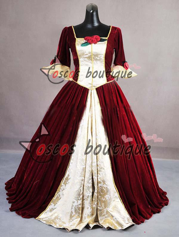 Custom Made Beauty And The Beast Costume Princess Belle Christmas ...