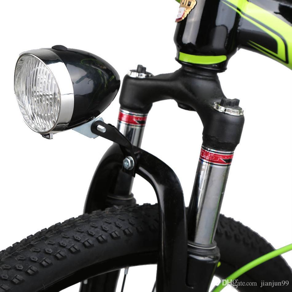 Led Mountainbike Beleuchtung | Grosshandel Neue 3 Led Scheinwerfer Retro Fahrrad Licht Lampe