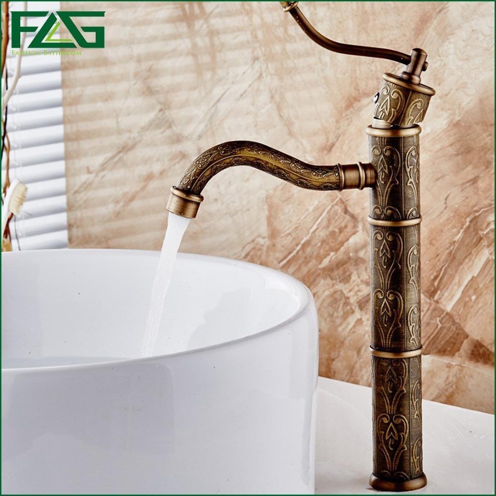Best European Aristocratic Bath Mat Antique Copper Faucet Robinet ...