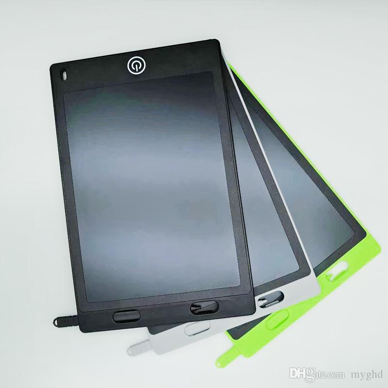 2017 8.5 pulgadas LCD Tableta de la Tableta de Dibujo Tablero de la Escritura a Mano Pads de Regalo para Niños Libreta de Notas de Papel Tabletas Memo Con Pluma Actualizada