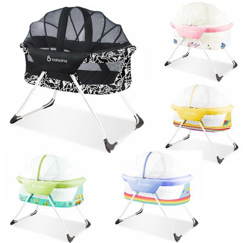 Compre Babysing Super Ligero Plegable Bebé Cama / Cuna Bebé / Fácil ...