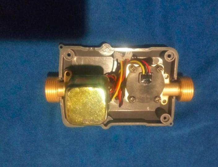 Completamente misuratore di portata con elettrovalvola in ottone 12v 3/4 '' integrazione max pressione acqua 2.0mpa con prezzo all'ingrosso