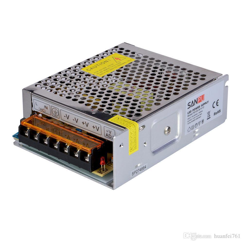 SANPU SMPS LED Driver 12v 24v Ac to Dc Light Transformer 110v 220v ...