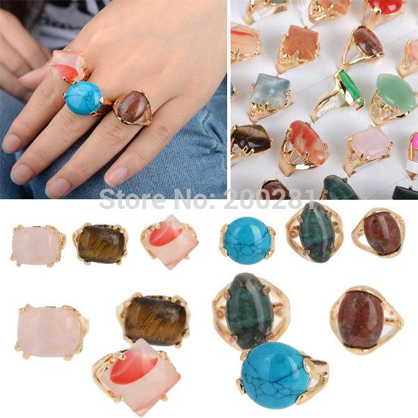 adjustable designer girls crystal women oxidized buy stone for vintage of dp assorted big gold rings combo retro