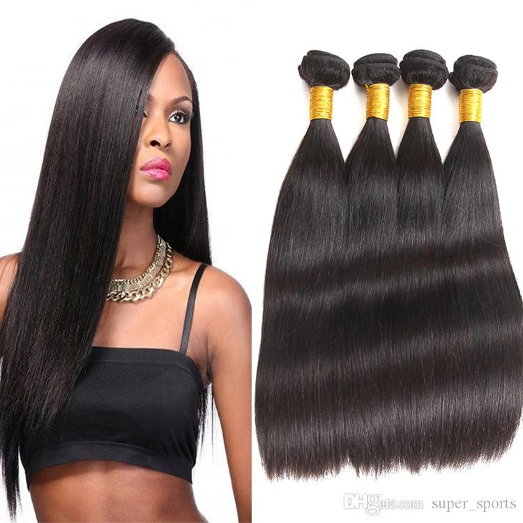 9a Malaysian Virgin Silky Straight Hair Weave Weft Unprocessed