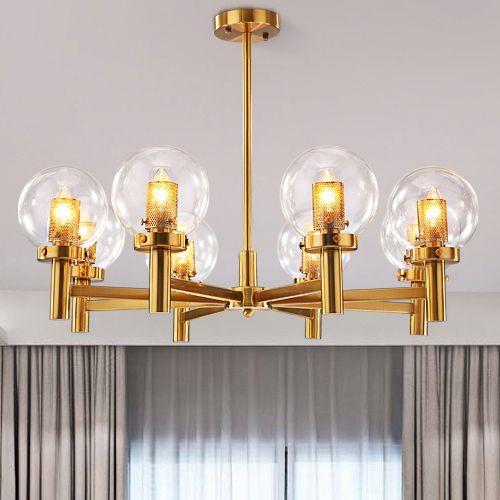 Modernas lámparas colgantes LED artista nórdico estadounidense llevó  lámparas de araña lámpara colgante para restaurante, comedor, sala de estar  ...