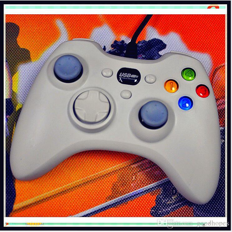 Xbox 360 Controller Usb Wire Cable Pc Game Controllers Joysticks ...