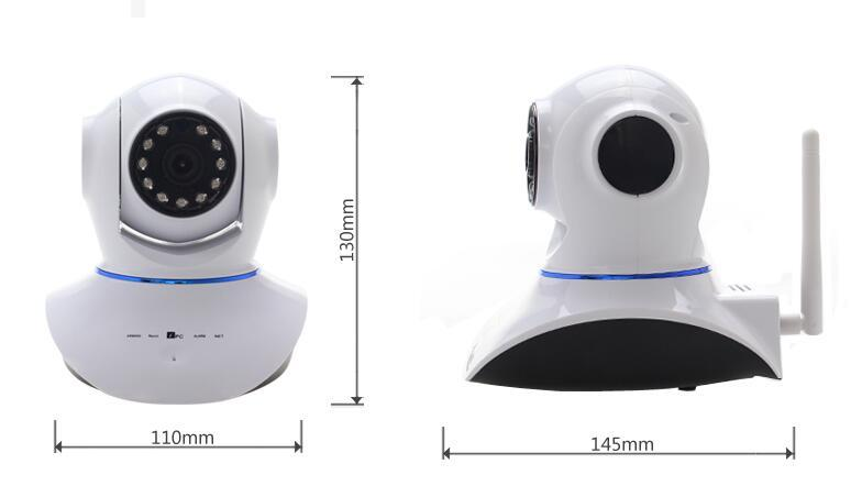 Nuovo 720P HD WiFi Cam IP Network Wireless Webcam Home Security Camera P2P APP Controllo Pan Tilt IR Cut Camera