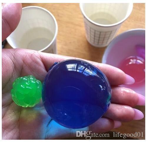 April Du Große Größe 12mm Orbeez Wasserpistole bullet.Water Perlen Bio Gel Ball.Crystal Boden. Kreative saugfähige Spielzeugpistole Spielzeug