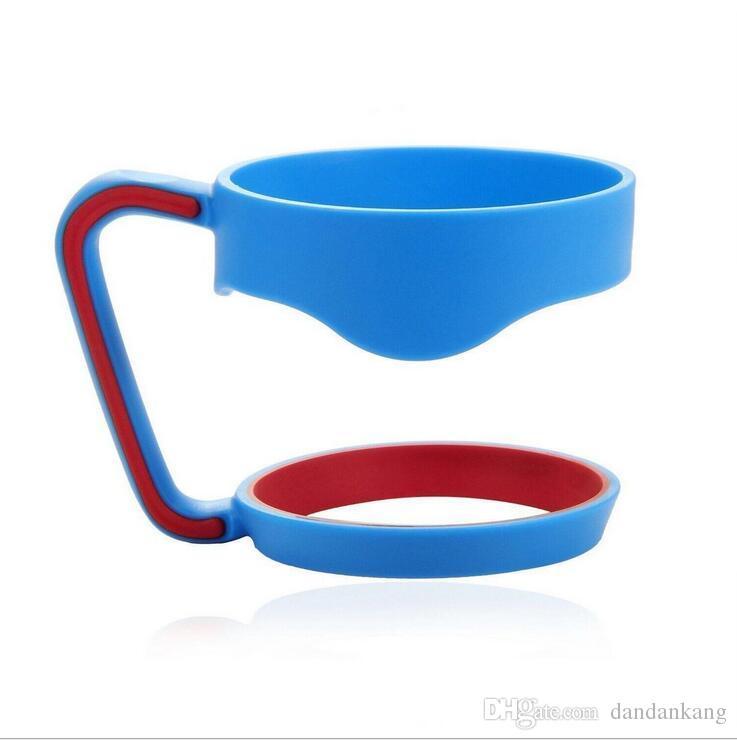 poignée portable pour tasses de voiture 30oz bleu noir Tasses Tasses poignée parfaite pour équipé 30oz tasses de voiture supports