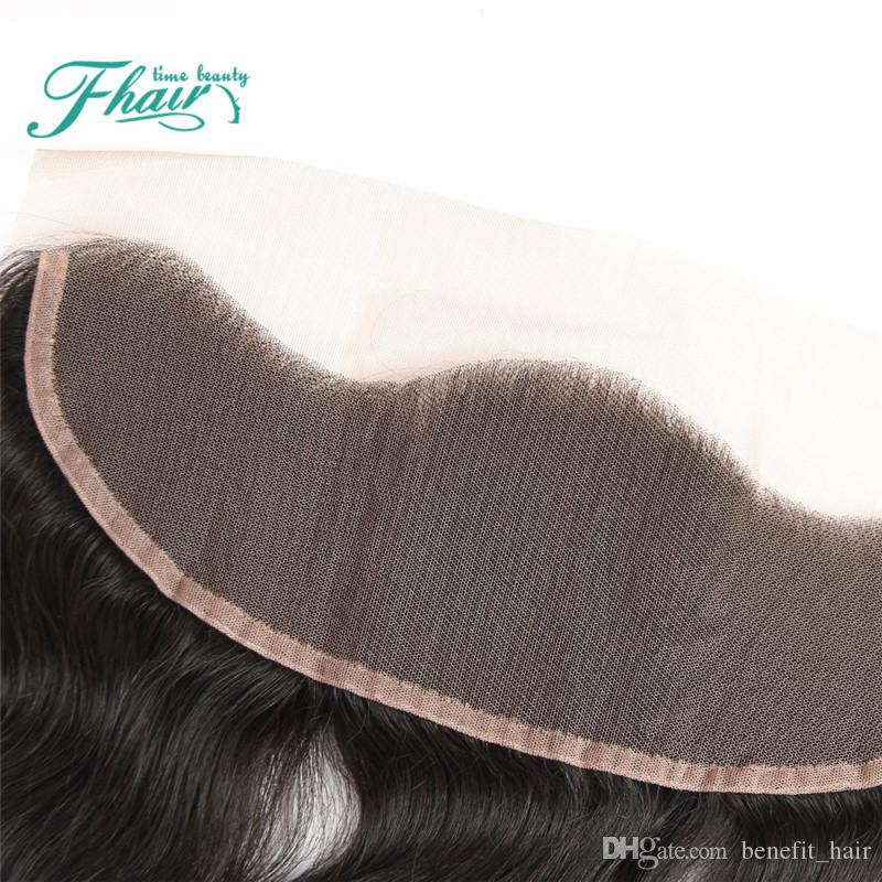 9A Cheap 13x4 Malaysian Body Wave Lace Frontal Bleached Knots Hair Full Lace Frontal Closure Free Middle 3Part DHL